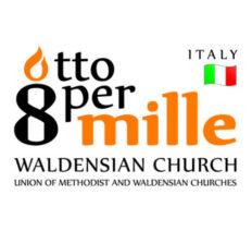 """Progetto 2016 sostenuto con i fondi Otto  per Mille della Chiesa Valdese"""""""